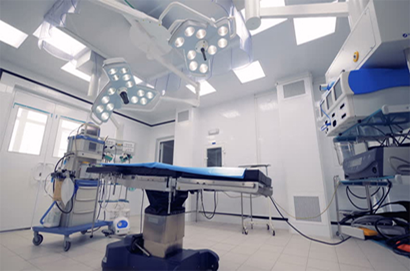 Clean Room At Hospital